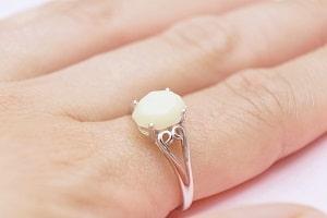 Anillo stone heart