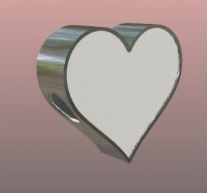 charm corazon