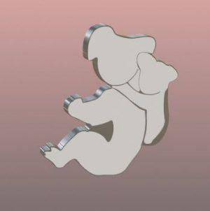 colgante koala