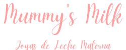 Logo mumm'ys milk Joyas de leche materna